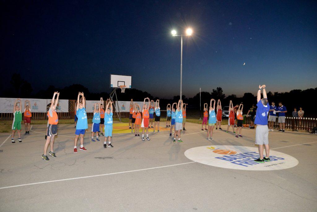 Basketfriends 2017. - selektivni trening