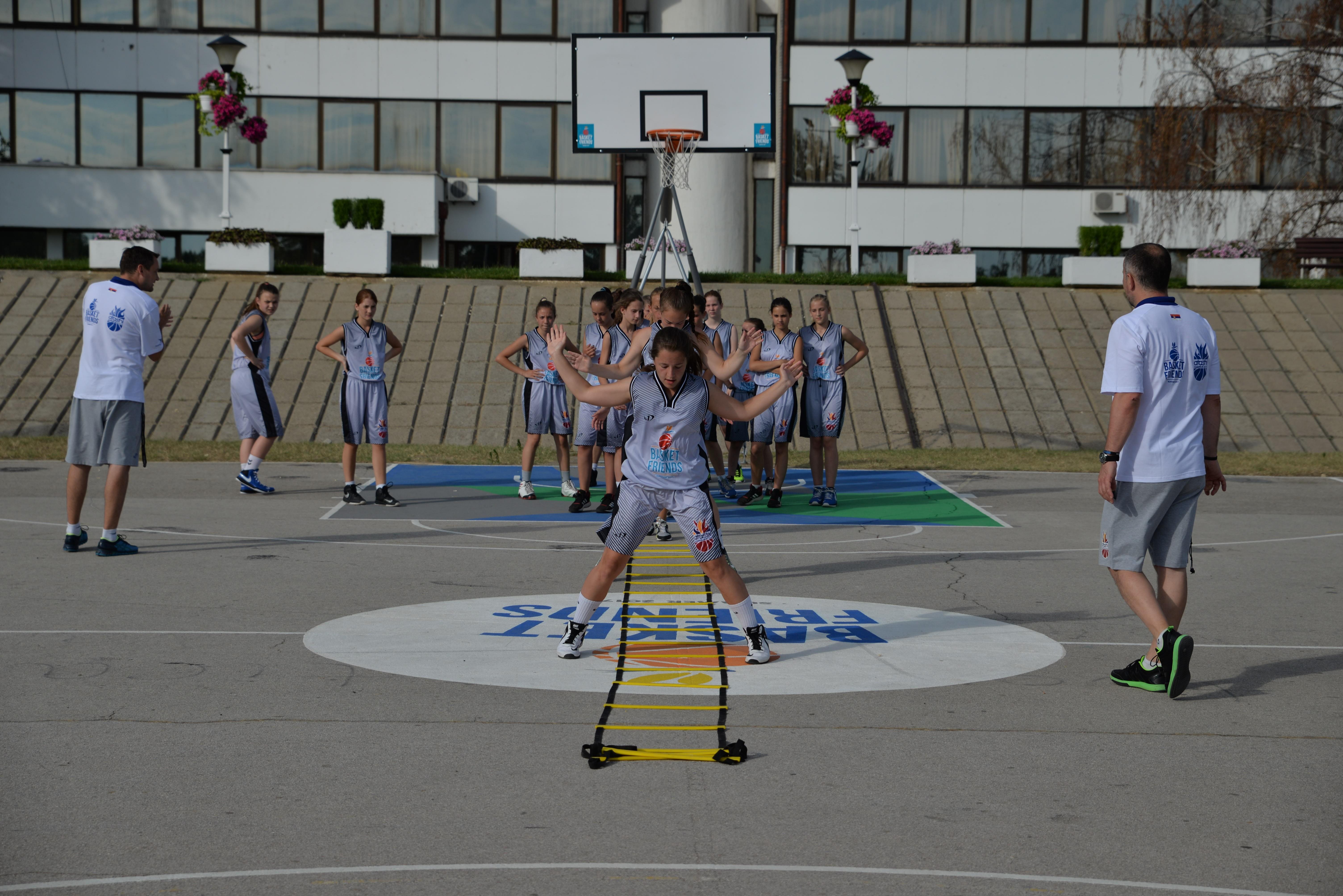 Basketfriends 2017. - trening koordinacije