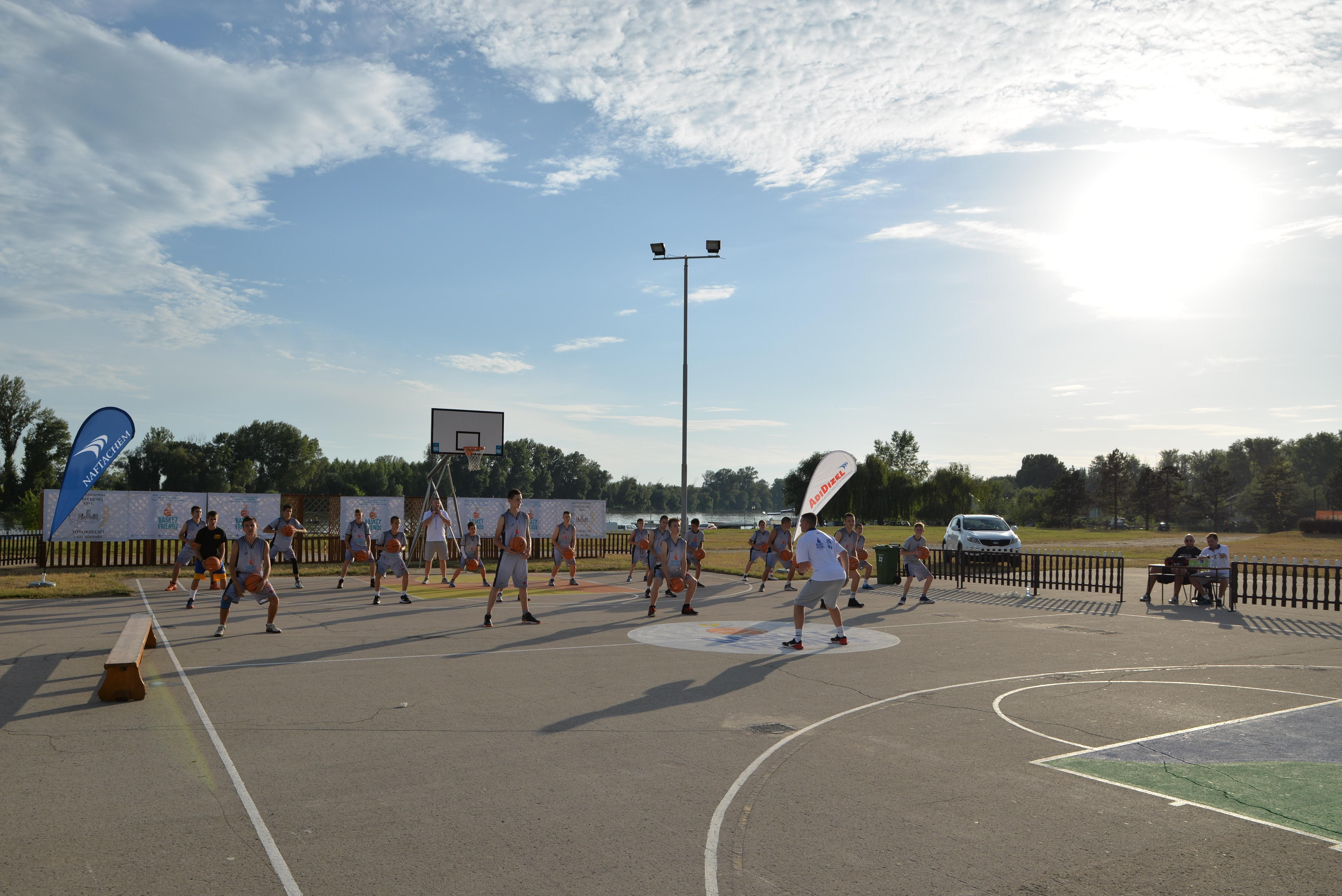 Basketfriends 2017. - basics of basketball training