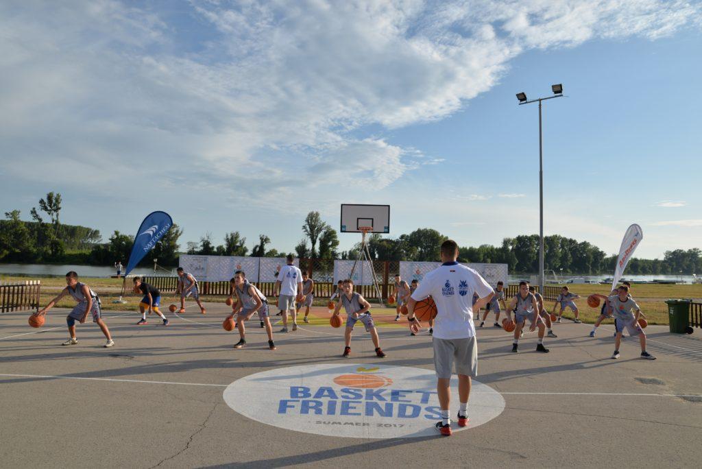 Basketfriends 2017. - rad na tehnici