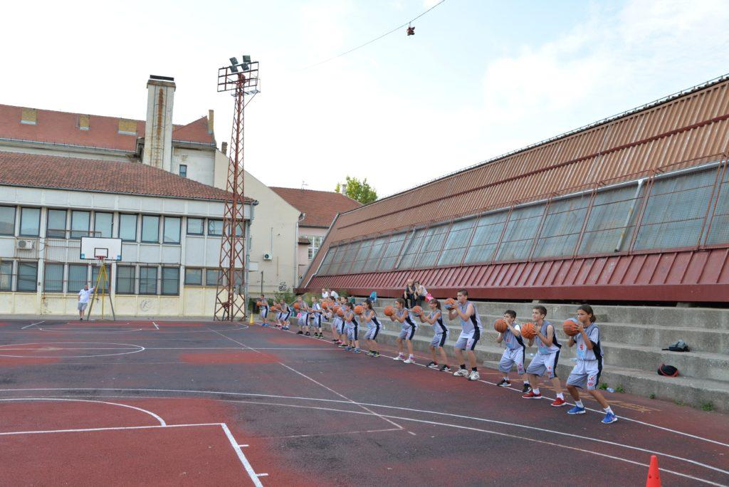 Basketfriends 2017. - trening na tartan podlozi