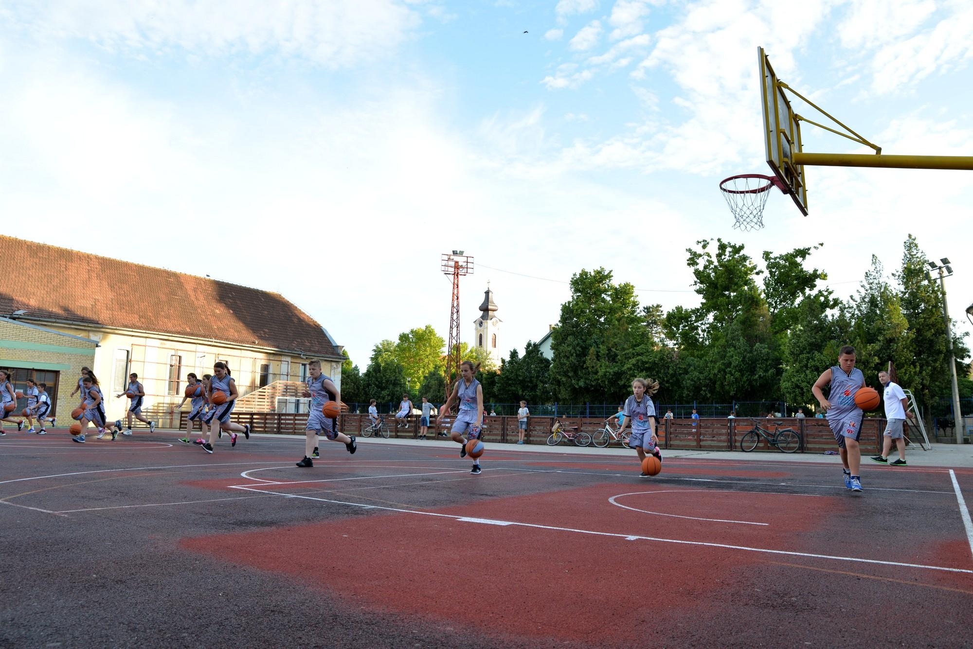 Basketfriends 2017. - second outdoor court