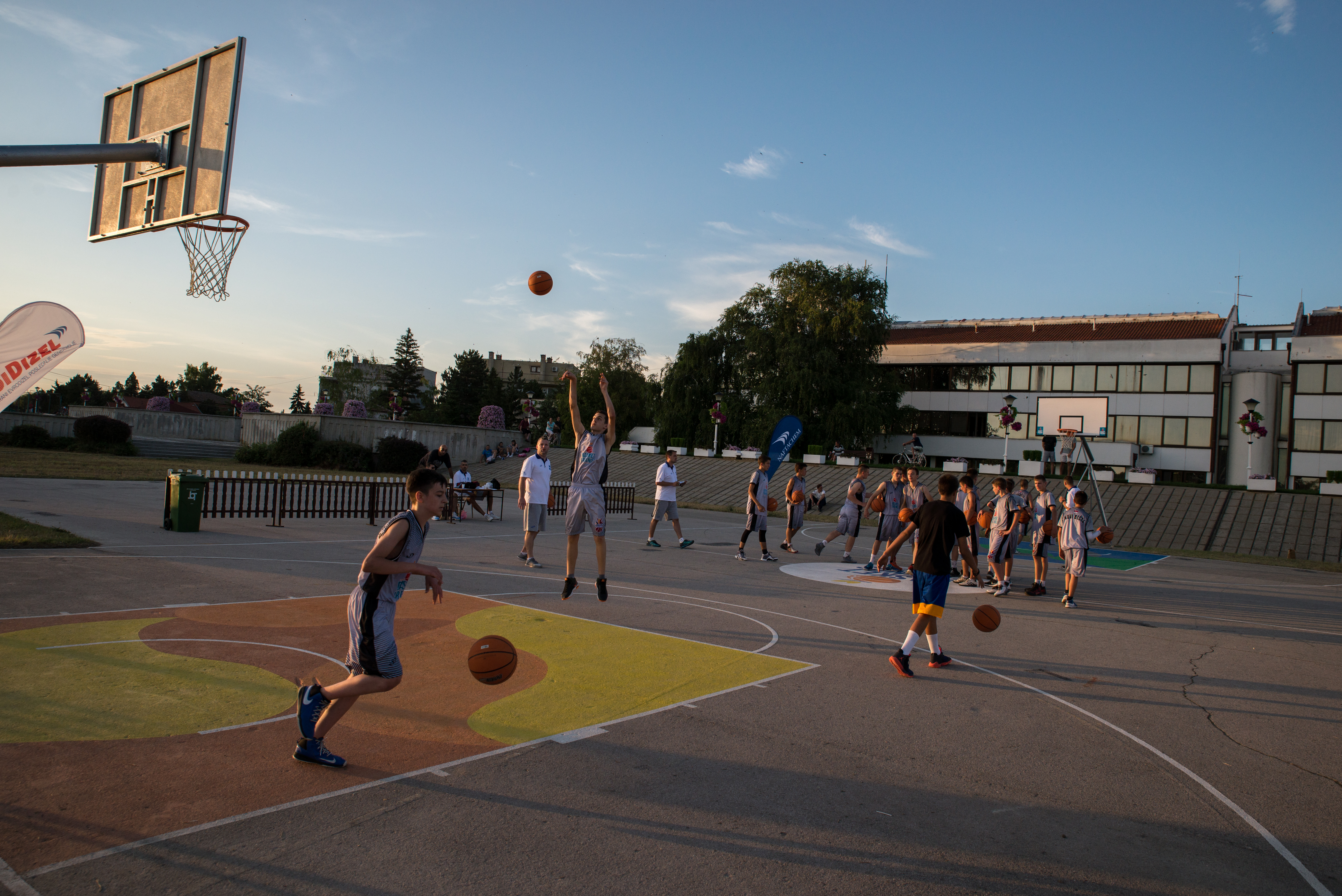 Basketfriends 2017. - preparation for the competition