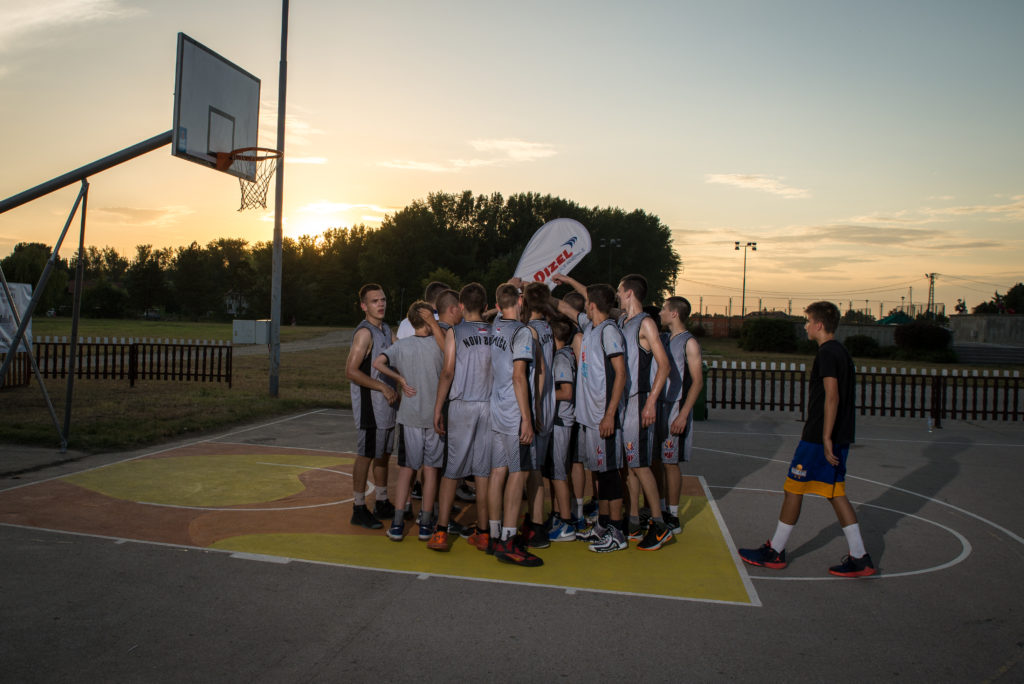 Basketfriends 2017. - developing a team spirit