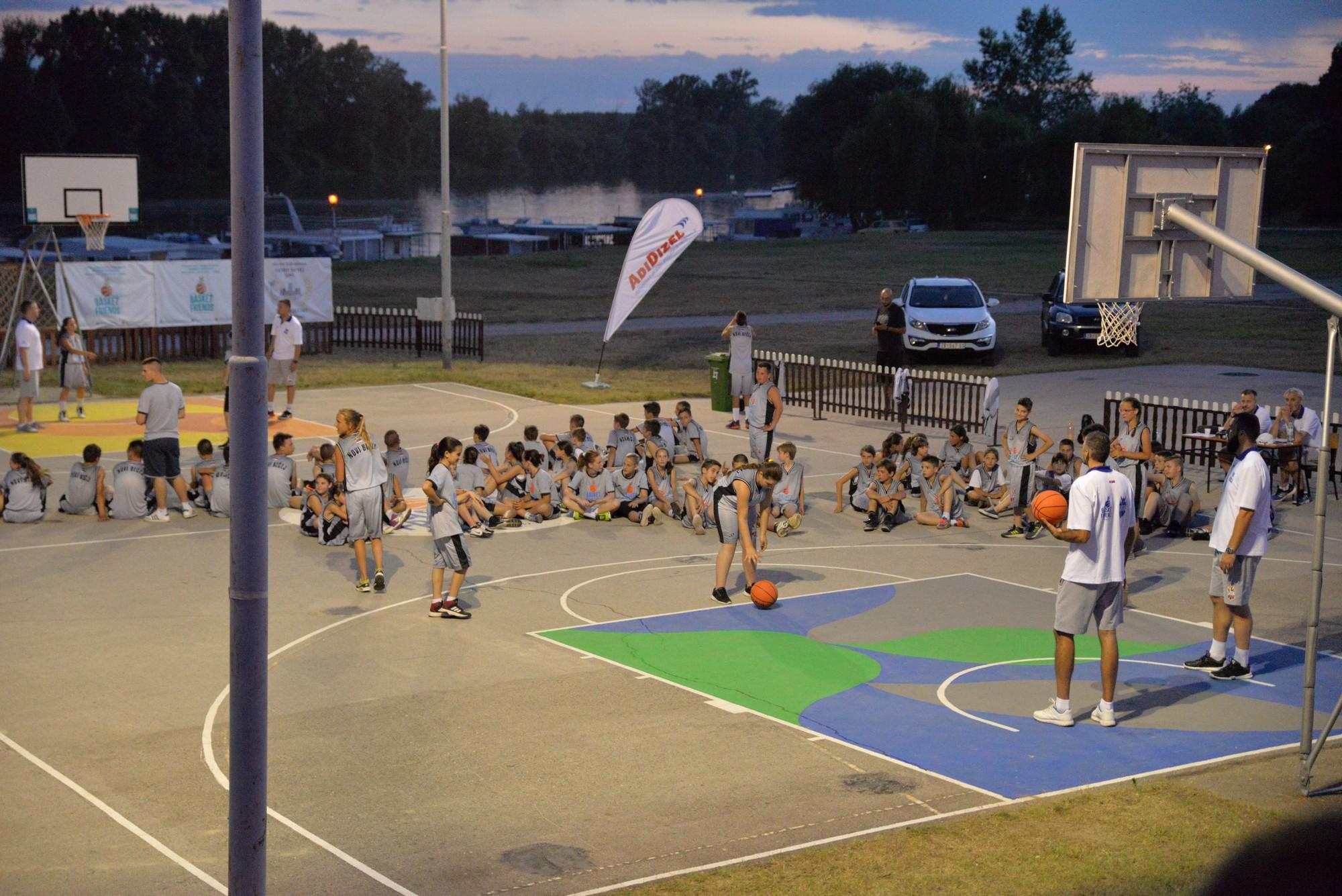 Basketfriends 2017. - večernje takmičenje