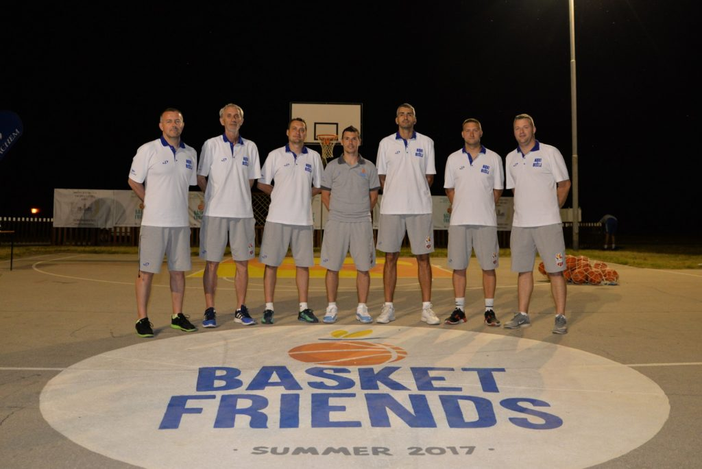 Basketfriends 2017. - our coaches