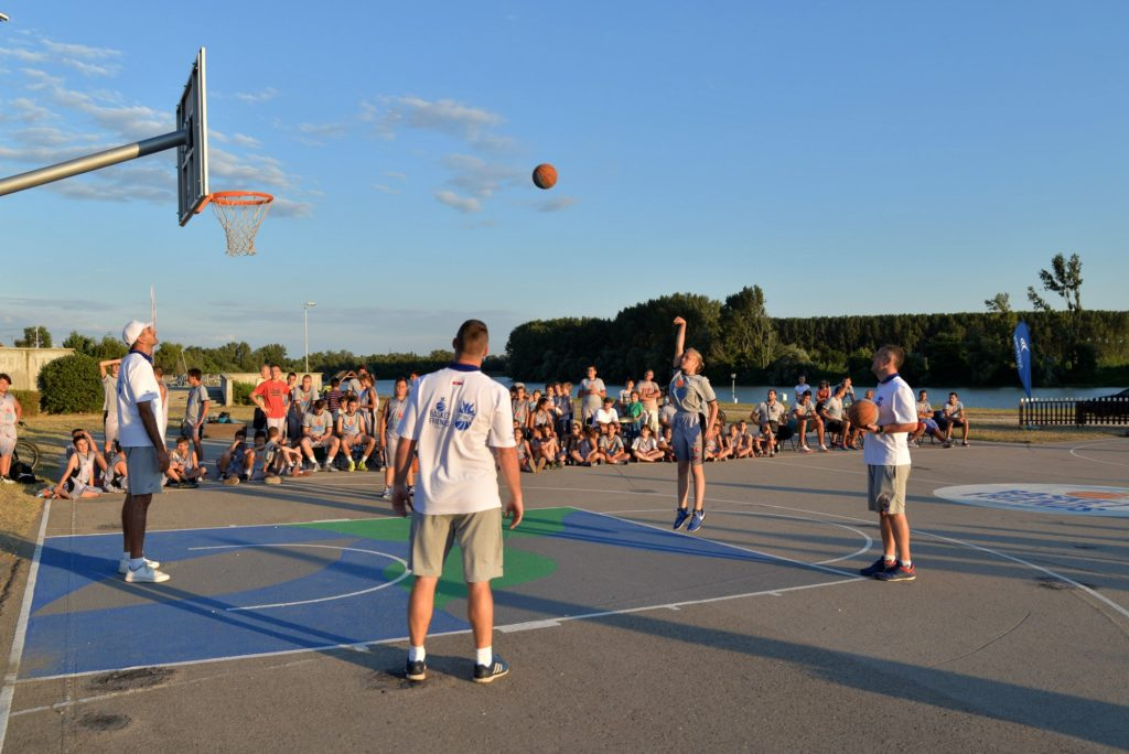 Basketfriends 2017. - free throws competition
