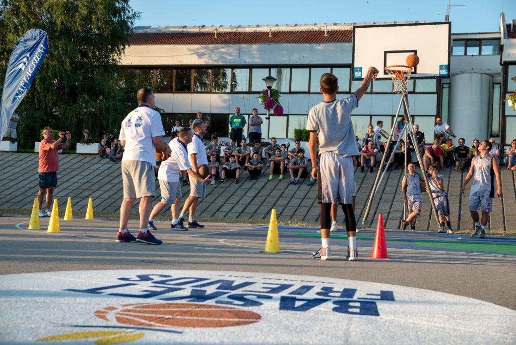 Basketfriends 2017. - takmičenje u šutiranju za tri poena