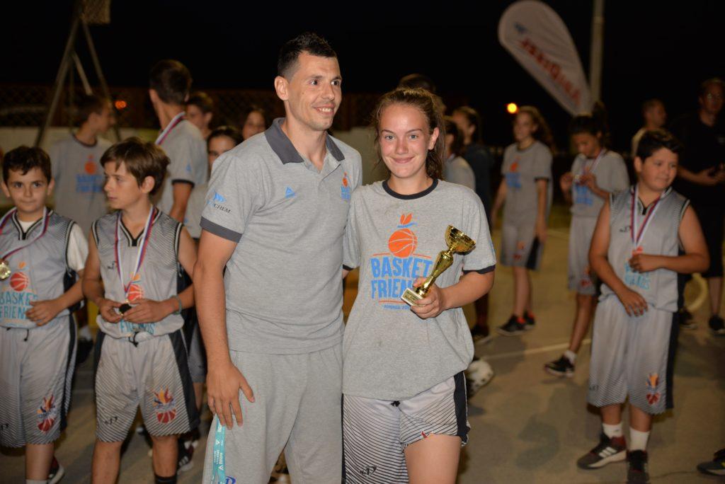 Basketfriends 2017. - Zlatko Jovanović i MVP prve smene