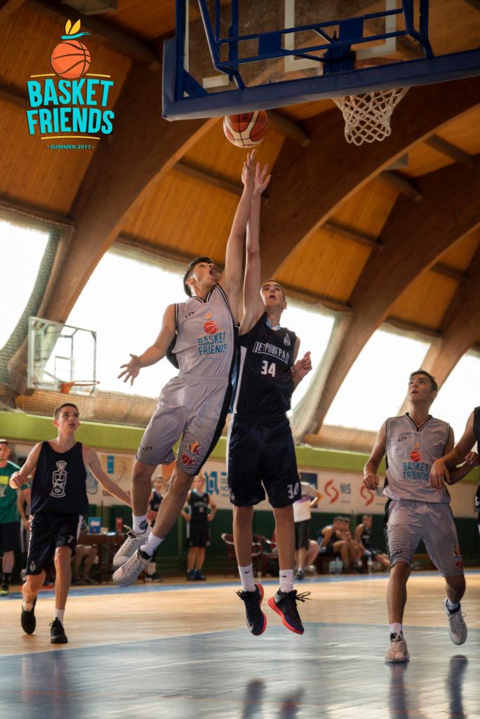 Basketfriends 2017. - friendly game/indoor court