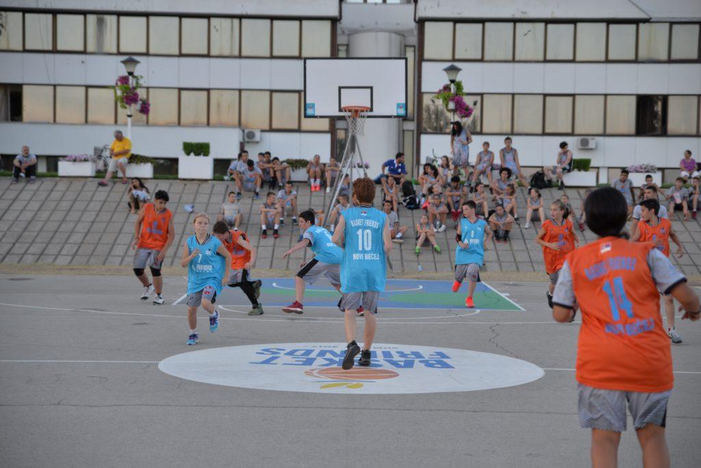 Basketfriends 2017. - takmičenje u igri 5 na 5