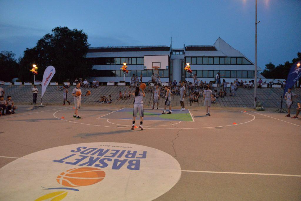 Basketfriends 2017. - takmičenje u šutiranju