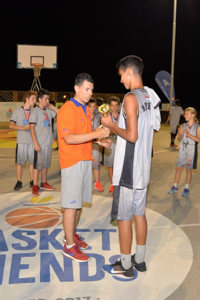 Basketfriends 2017. - Zlatko Jovanovic and second shift MVP
