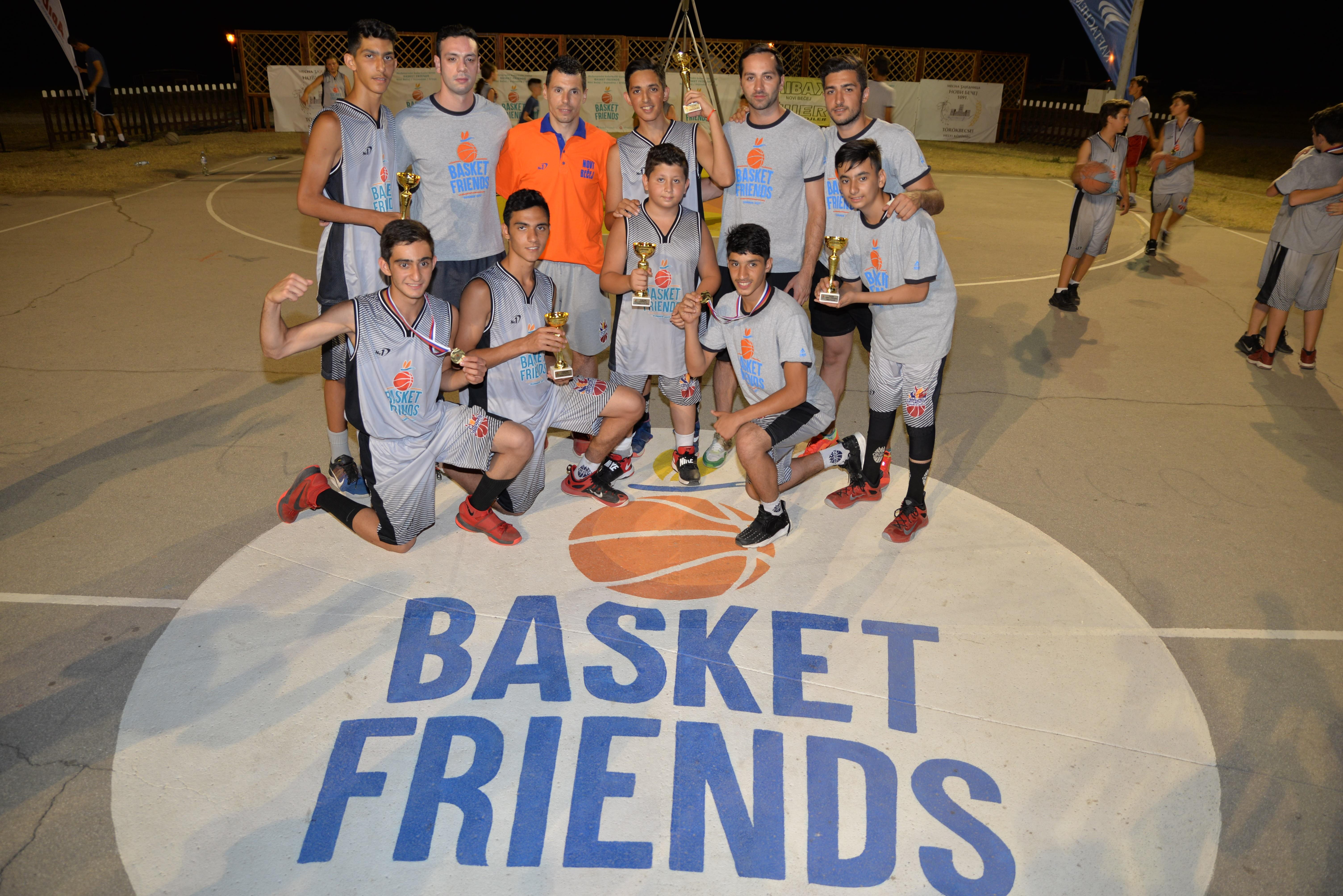 Basketfriends 2017. - učesnici kampa iz Irana
