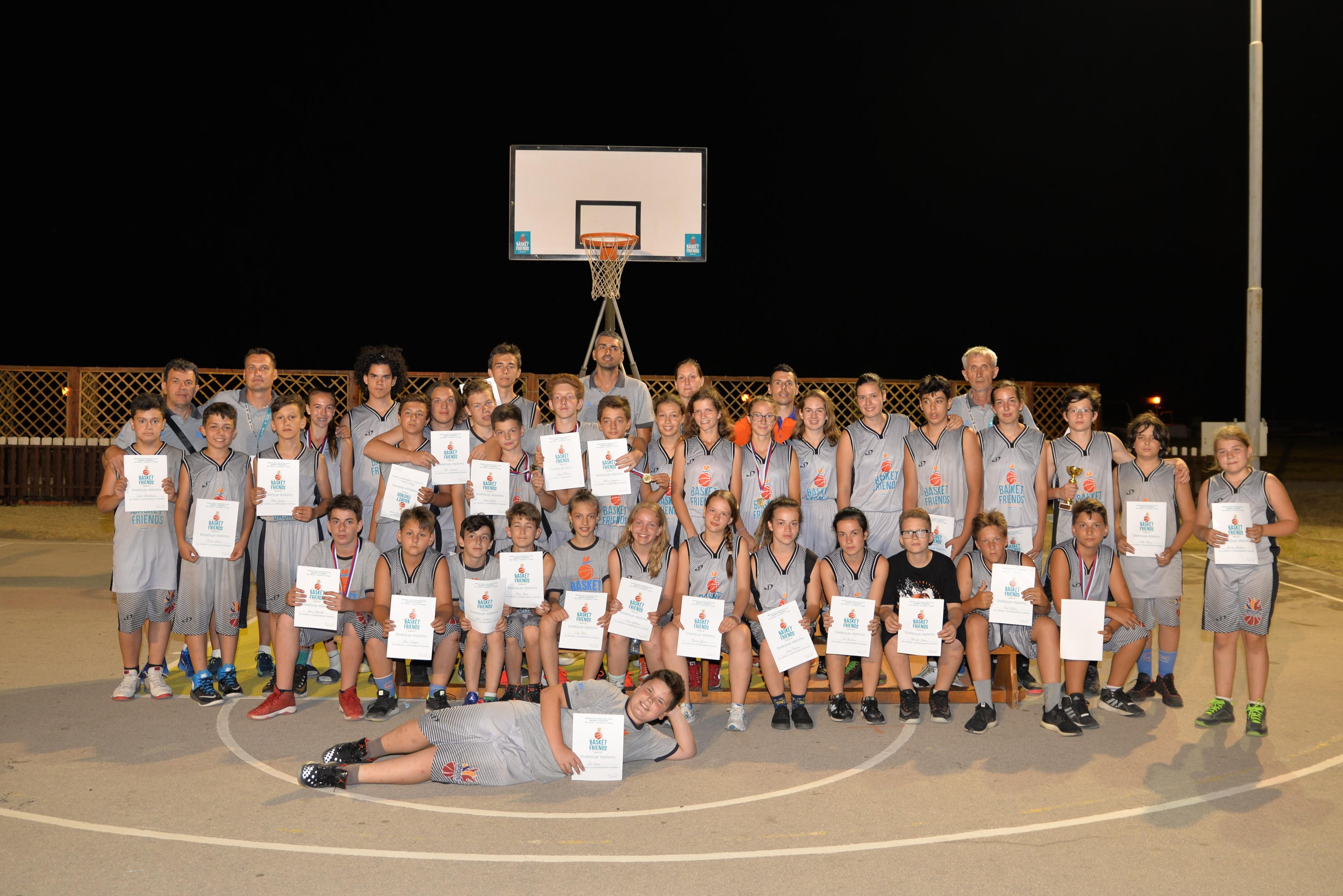 Basketfriends 2017. - future basketball players